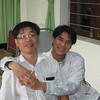 Quy and Hung.  Hung is an MD at the Children's Hospital in Vinh and helped us out with a lot of logistics.