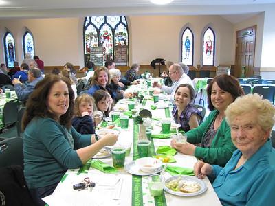 Irish Dinner 2011