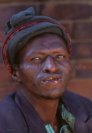 Man Close-up, Soweto, Johannesburg, South Africa, Africa