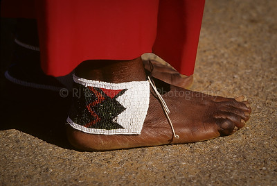 Foot Close-up, Soweto, Johannesburg, South Africa, Africa
