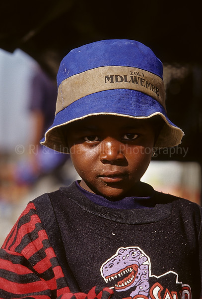 Child Close-up, Soweto, Johannesburg, South Africa, Africa