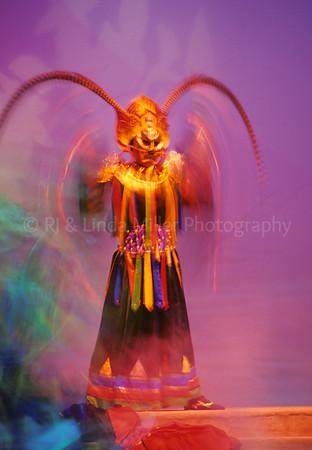 Dancers, Tang Dynasty Theatre, Xian, China, Asia, Asian