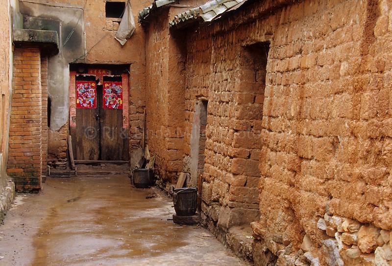 Street Scene, Yi-Seven Star Village, Yunnan Province, China, Asia, Asian