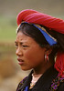 Young Girl, Zhongdian, Tibetan Plateau, Tibetan Horse Village, China, Asia, Asian