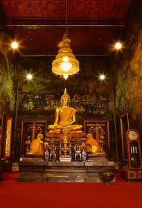 Buddha Statue, Wat Mahaprutharam, Thailand, Southeast Asia,