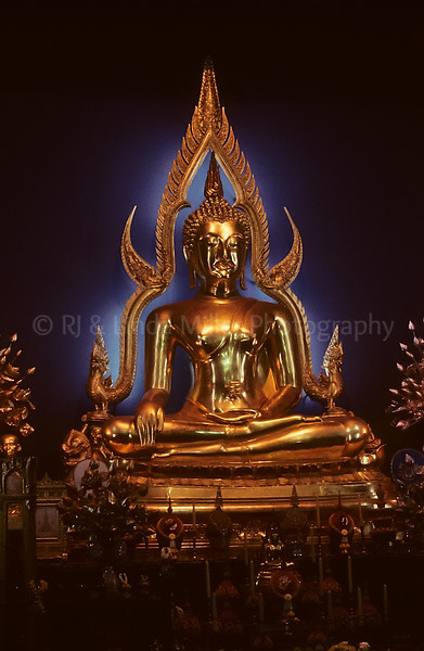 Wat Benchamabopitr, Marble Temple, Statue of Lord Buddha, Thailand, Southeast Asia,