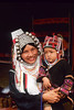 Karen Hilltribe Woman With Child, Kok River, Chiang Rai, Thailand,