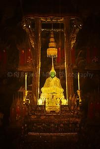 Emerald Buddha, Temple of the Emerald Buddha, Bangkok, Thailand, Southeast Asia,