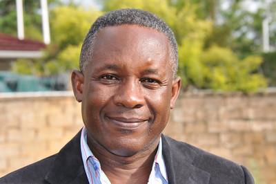 ZAMBIA 2012 031 Maurice Muchinda, founder of Haemophilia Foundation of Zambia