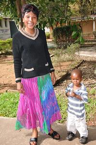 ZAMBIA 2012 018 Mom and son
