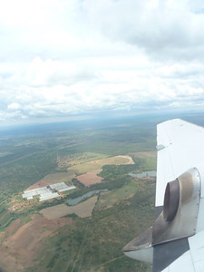 Zambia from air