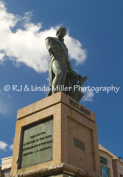 Lord Nelson Statue, Barbados, Lesser Antillies, West Indies, Caribbean