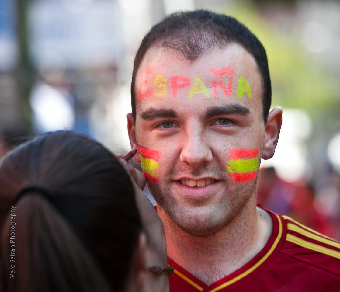 Football Championship Madrid, Spain
