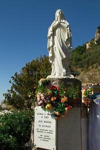 Madonna, Gloria E Onore A Dio Ave Maria, Amalfi, Amalfi Coast, Italy, Europe