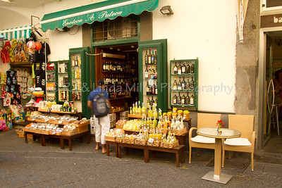 Shops, Amalfi, Amalfi Coast, Italy, Europe