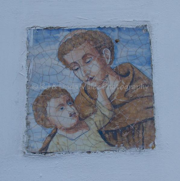 Wall Mural Art, Capri, Italy
