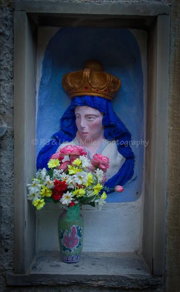 Madonna, Manarola, Cinque Terre, Italy, Europe,