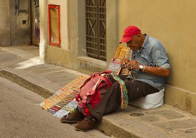 Street Vendor, Florence, Italy