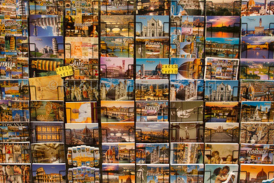 Postcards, Florence, Italy