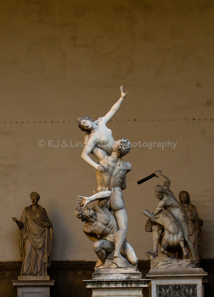 The Rape of the Sabine Women, Florence, Italy