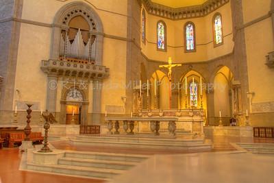 Basilica di Santa Maria del Fiore, Interior, Florence, Italy