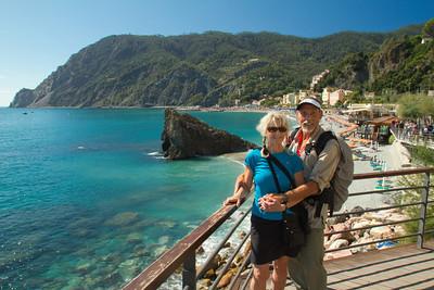 Monterosso al Mare, Beach, Cinque Terre, Italy, Europe,