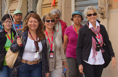 Tour Group, Gate 1, Montecatini Terme, Italy