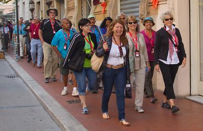 Tour Group, Gate 1, Montecatini Terme, Italy