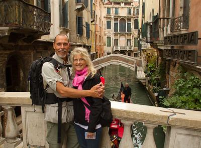 RJ & LInda in Venice, Venezia, Italy