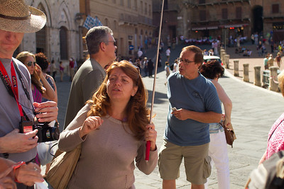 Tour Group, Marisa, Siena, Italy