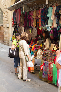 Clothing Vendor, Florence, Italy