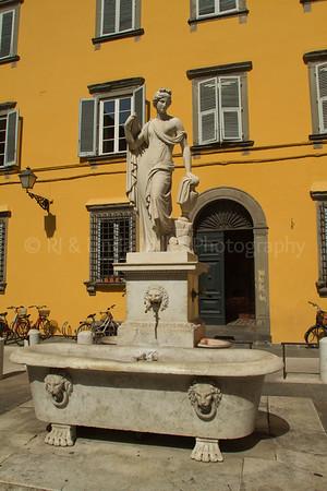 Fontana di Lucca, Lucca, Italy, Europe