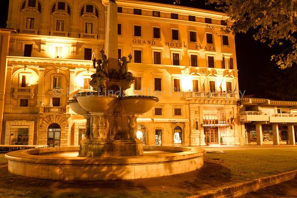 Fountain of Piazza del popolo, Montecatini Terme, Italy