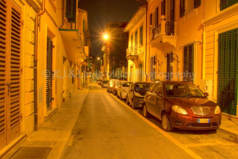 Narrow Streets, Montecatini Terme, Italy