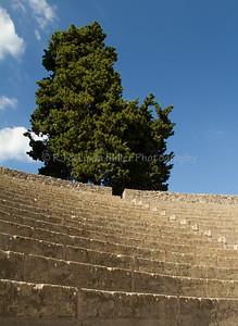 Amphitheatre Seating, Pompeii, Italy