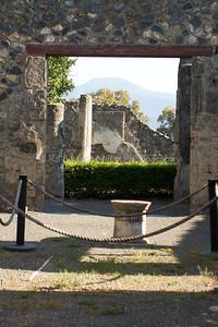 Ruins, Pompeii, Italy