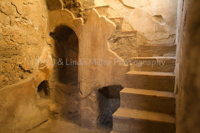 Alcove & Stairs, Pompeii, Italy