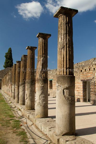 Pillars of Pompeii, Italy
