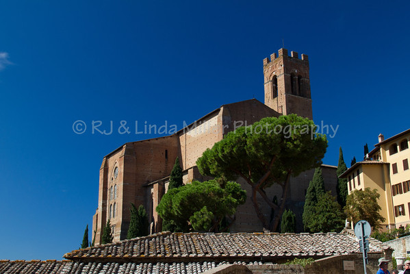Church Of San Domenico, Siena, Italy