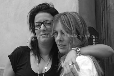 2 Friends, Women of Siena, Italy