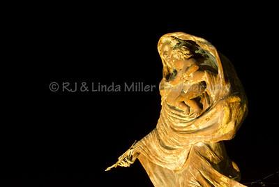 Madonna Statue, Sorrento, Italy