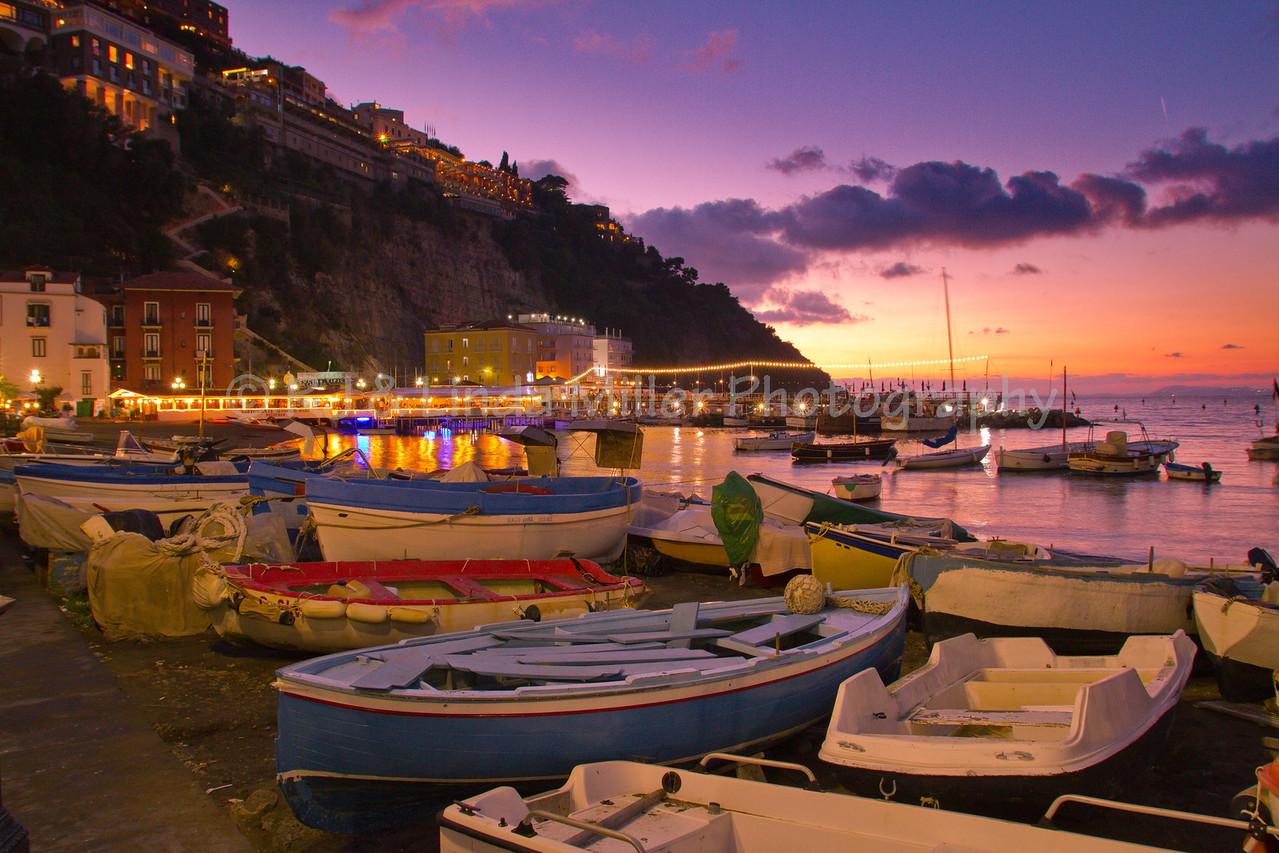 Fishing Dorries, Grand Marina, Sorrento, Italy