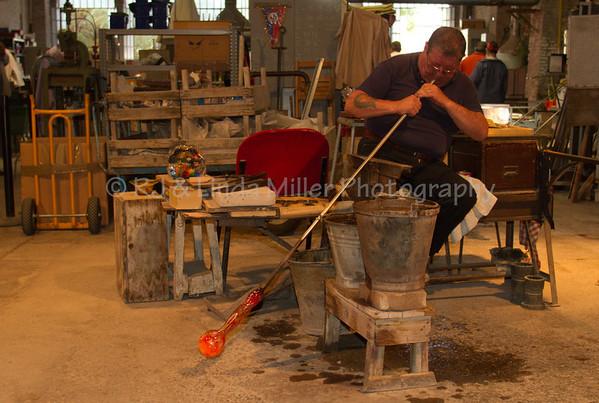 Artisans of Murano, Ferro & Lazzarini Fornace, Venice, Italy