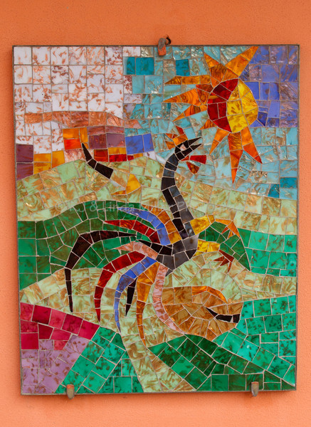 Glass Collage, Artisans of Murano, Venice, Italy