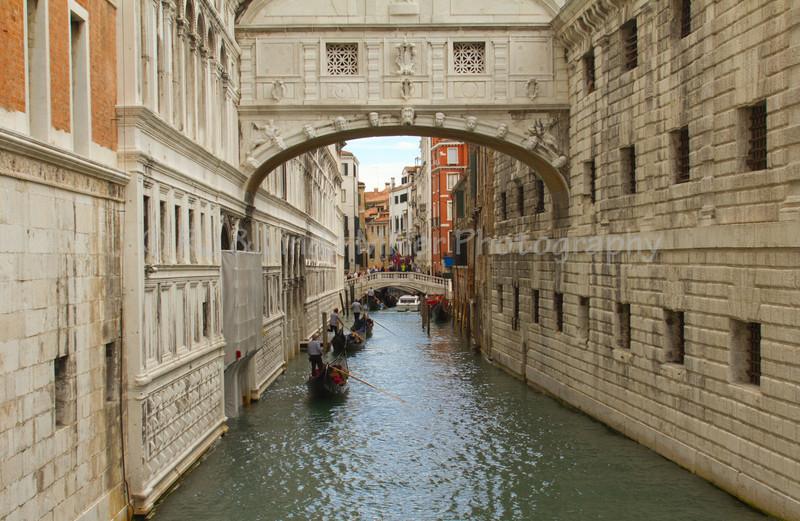 Bridge of Sighs, Canal, Venice, Venezia, Italy