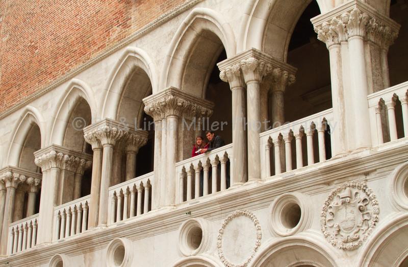 Palazzo Ducale Courtyard, Venice, Venezia, Italy