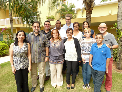 The Asociación Puertoriqueña de Hemofilia (APH), ready to take hemophilia care to the next level!  It was a pleasure and honor to work with such an industrious and dedicated group on Saturday in September. We did more in 6 hours than many groups do in three days! ¡Felicitaciones, amigos and ustedes veo pronto!