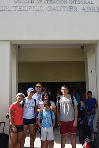 The Cox Family at the HTC in Santo Domingo