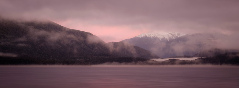 AATeAnau foggy sunrise