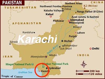 First Stop: Karachi